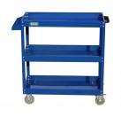 老A 加大加高三层工具车(蓝色)
