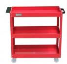 老A三层工具车(红色)