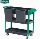 老A 塑料四层工具车 (绿色)