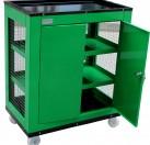 老A  双开门网式工具车(绿色)