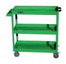 老A 加大加高三层工具车(绿色)