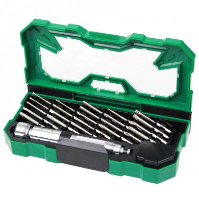 老A 精密螺丝批套装 25合1  绿盒